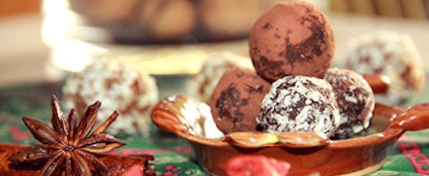 Zdravé vánoční cukroví ze superpotravin
